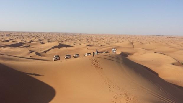 Al maha desert resort dune bashing stopping point