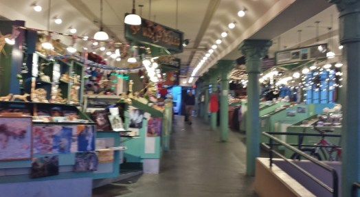 Pike Place Market Seattle December Emptiness