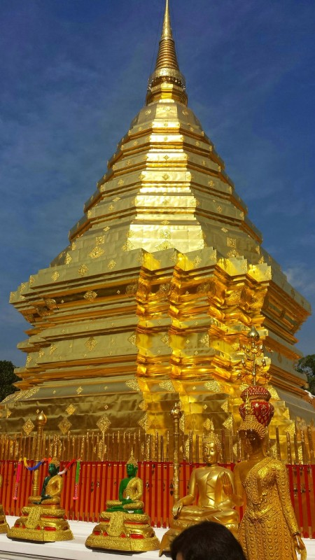 Wat Phra That Doi Suthep golden temple