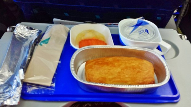 Bangkok Airways meal chiang mai to bangkok