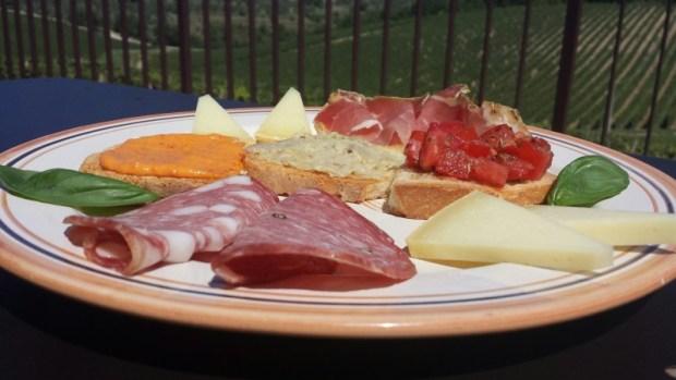 Casa Emma Chianti Tuscany appetizers