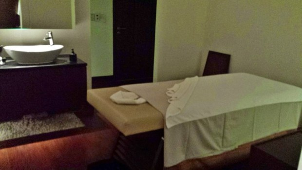 Chiang Mai Spa Le Meridien treatment room