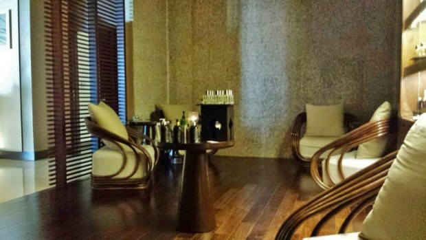 Chiang Mai Spa Le Meridien waiting room