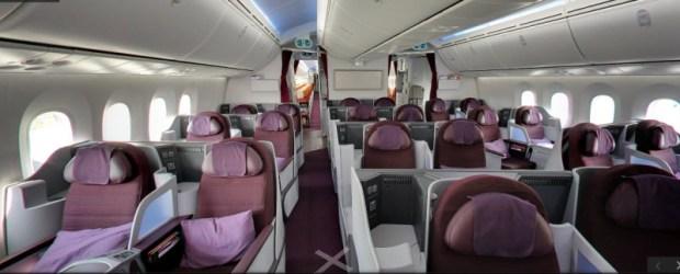Thai Airways 787 Street View