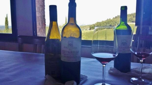 Tuscany wine tours isole e olena wines