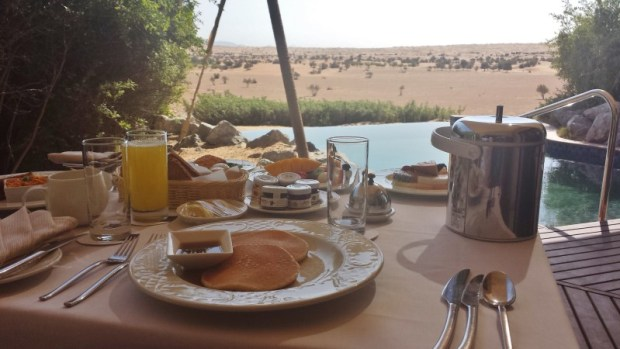 al maha resort dubai room service breakfast