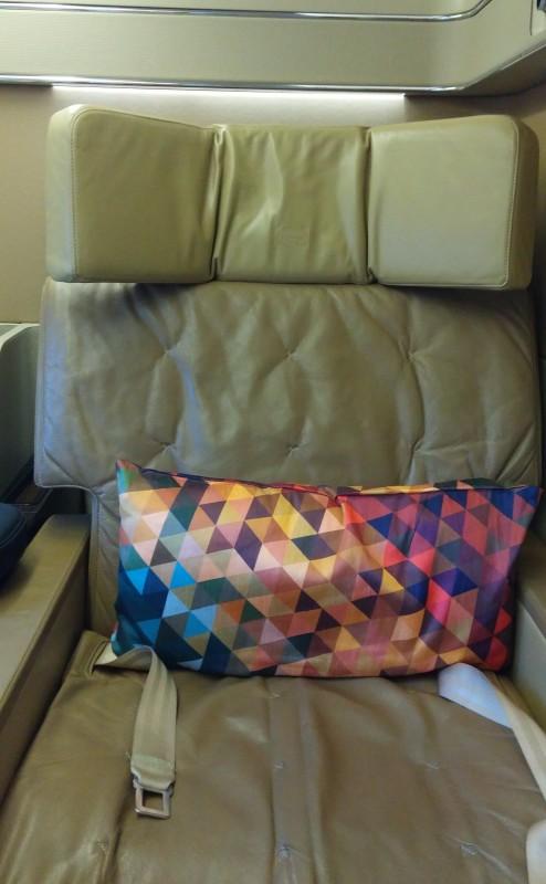 Etihad First LAX AUH seat
