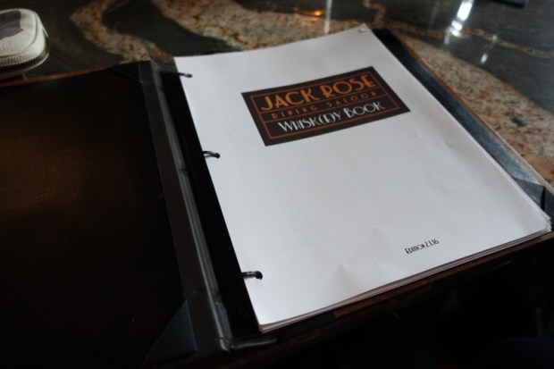 Jack Rose DC whiskey book