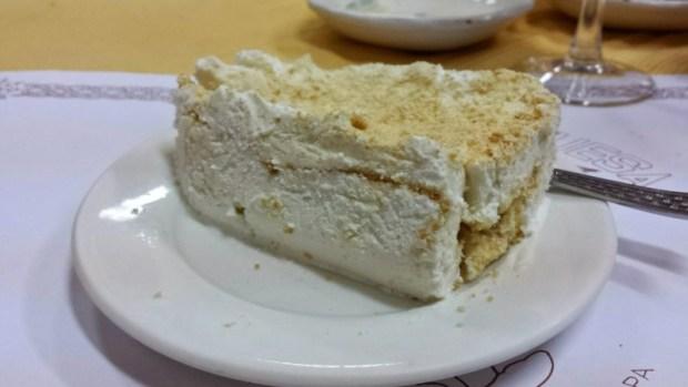 O Santos Portuguese Restaurant Macau gelado de natas cream