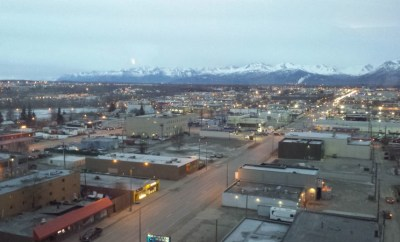 Anchorage 2016 March 4 no snow