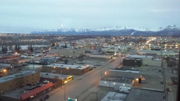 Anchorage 2016 March 4 no snow