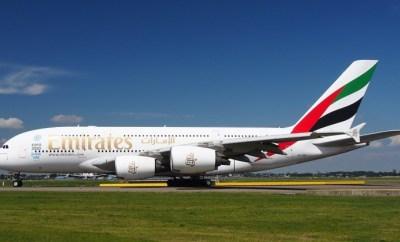 Emirates A380 pixabay image