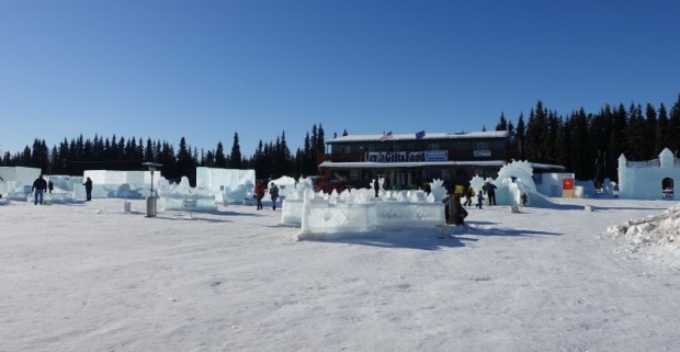Fairbanks Ice Park Ice Scuplture Championships Kids Ice Park