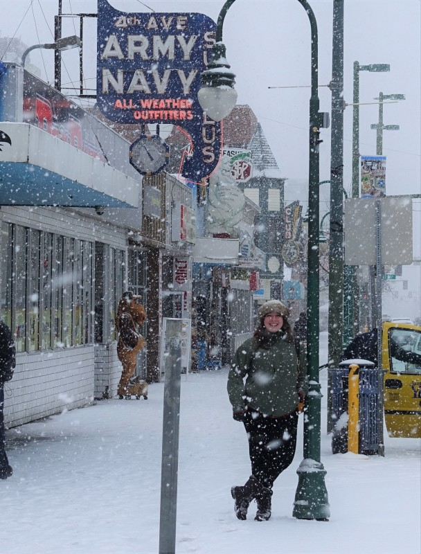 Keri Snow Downtown Anchorage