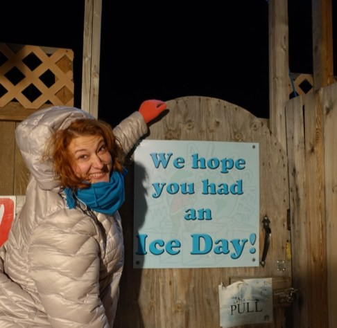 Tiffany Fairbanks Ice Park Have an Ice Day