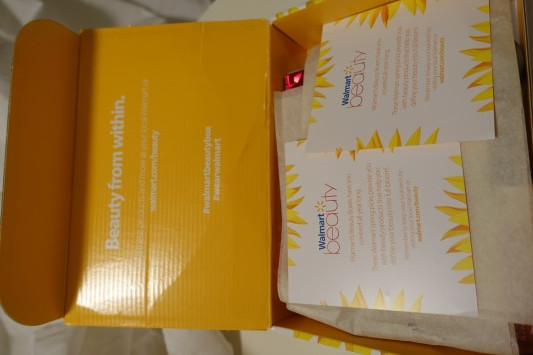 walmart beauty box spring 2016 unboxed
