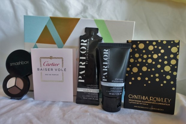 Birchbox March 2016 contents
