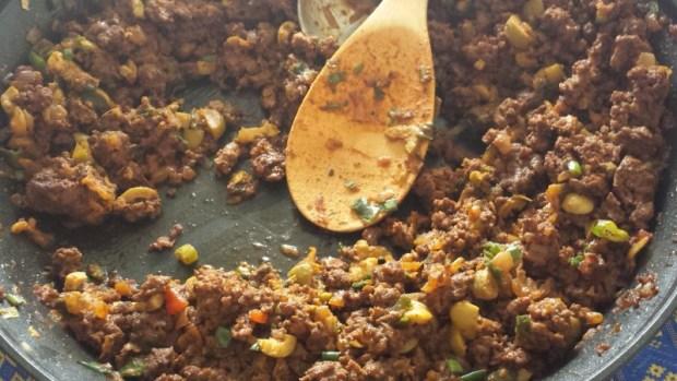 Empanadas mendocinas filling half recipe