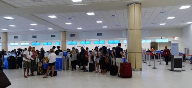 San Juan Airport American Check In
