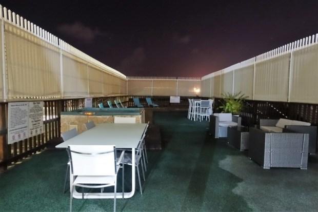 San Juan Airport Hotel Review outdoor jacuzzi
