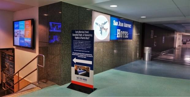 San Juan Airport Hotel Review siden entrance