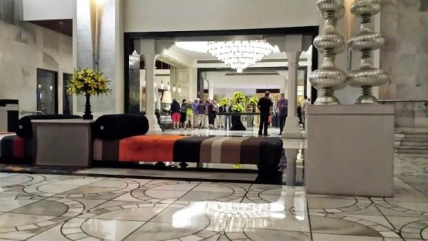 ITC Mughal lobby decor