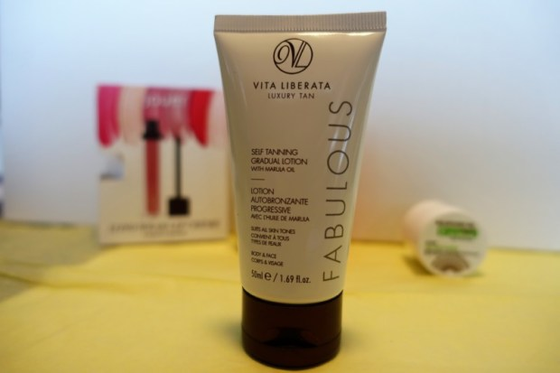 May Birchbox Review Vita Liberata Self tanner