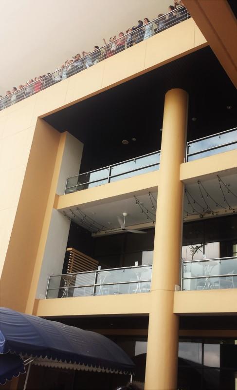 Miraflores Locks Panama Canal viewing floors