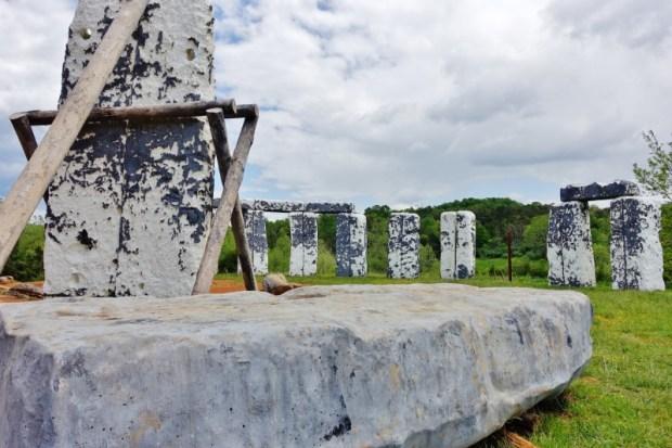 foamhenge natural bridge va sacrificial altar