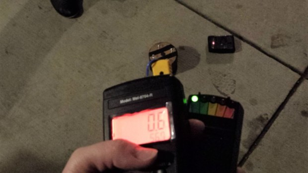 ghost tour emf detector