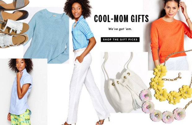 j crew factory mothers day