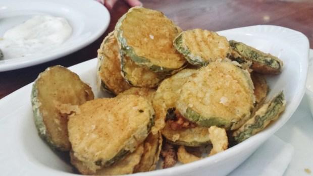 the hangout bar & grill seal beach restaurants fried pickles
