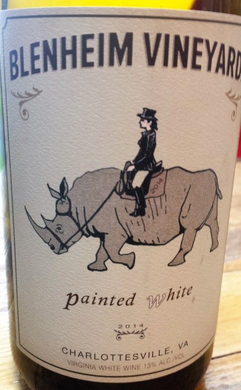 Blenhiem Vineyards Painted White Label 2016