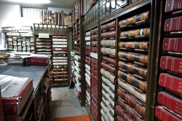Idaho City Boise County Offices records vault