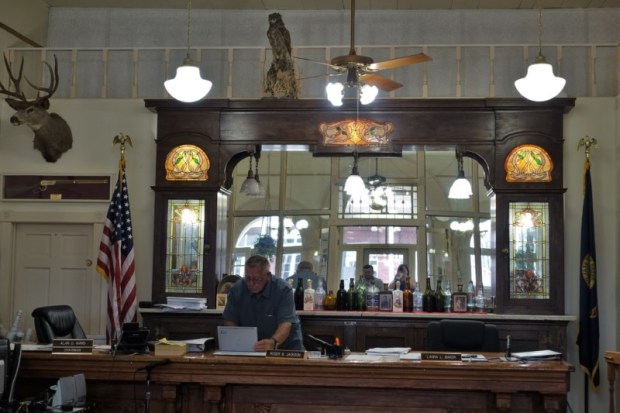 Idaho City Boise County Offices saloon meetings