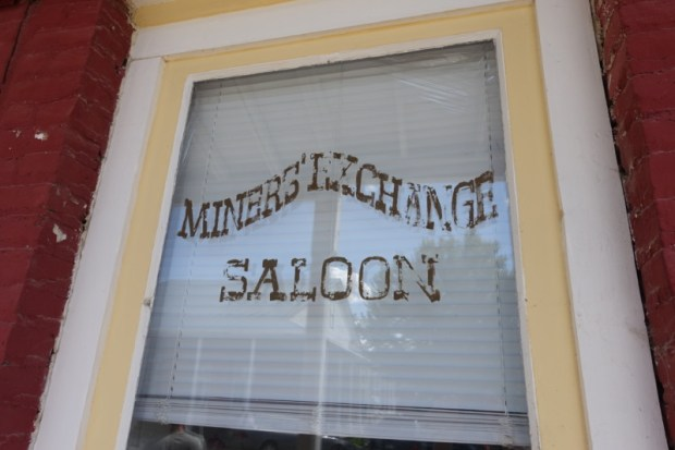 Idaho City Boise County Offices window