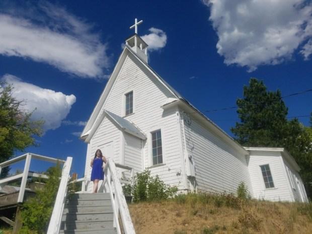 Idaho City Catholic Church on the Hill