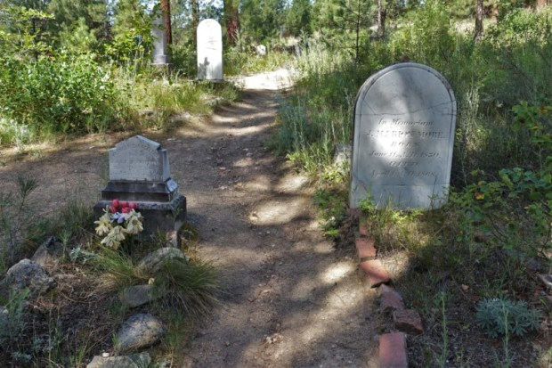 Idaho City Pioneer Cemetery Boot Hill More grave