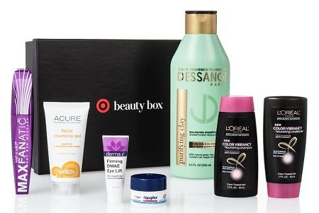 July Target Beauty Box Simply Radiant