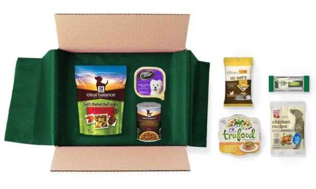 amazon sample box dog food and treats