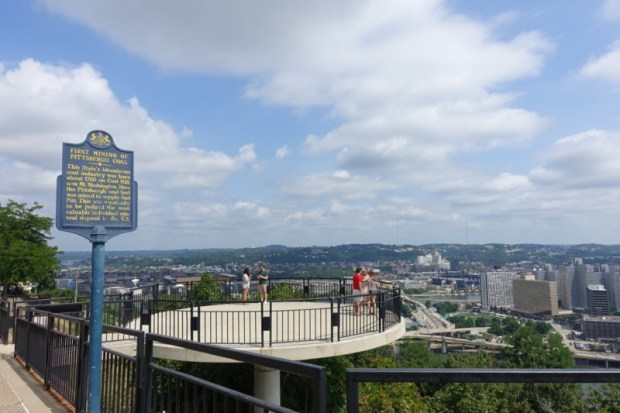 Mount Washington Grandview Overlook Pittsburgh PA