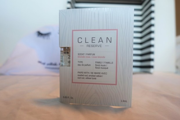 Sephora Play Box August 2016 Clean reserve blonde rose
