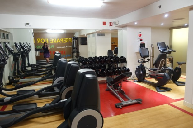 Sheraton Old San Juan Hotel Review Governors Suite Gym Machines