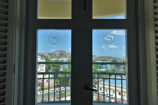 Sheraton Old San Juan Hotel Review Governors Suite balcony view
