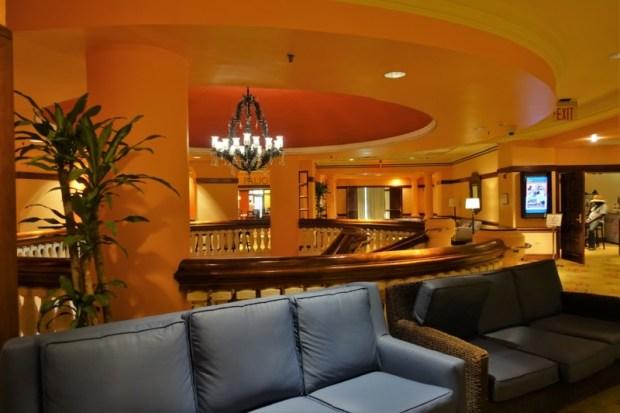 Sheraton Old San Juan Hotel Review Second Floor Lobby