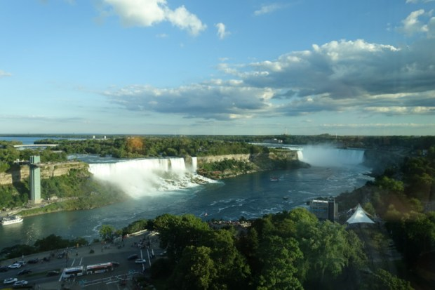 Sheraton on the Falls Corner Suite View of Niagara Falls