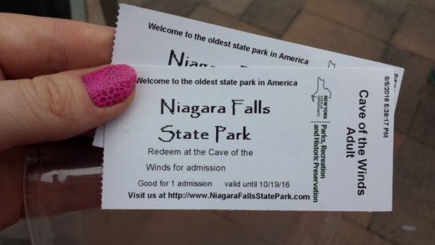 Cave of the Winds Niagara Falls NY tickets