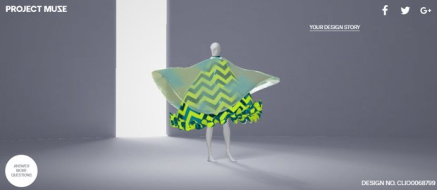 Google Fashion Project Muse additional questions