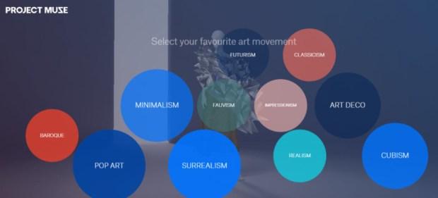 Google Fashion Project Muse pick art