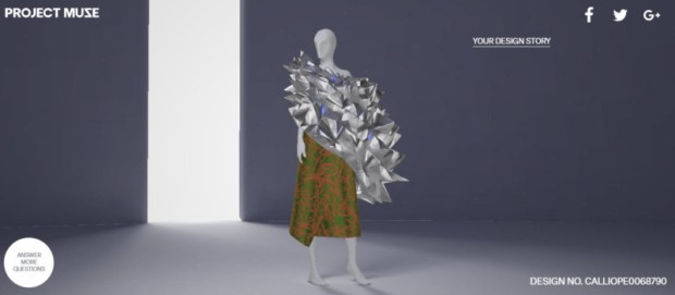 Google Fashion Project Muse spiky